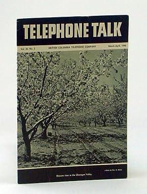 Telephone Talk, March - April 1946: Magazine: Pullen, Newton F.;