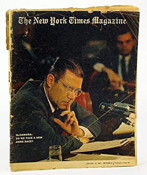 The New York Times Magazine, January (Jan.) 15, 1967 - Jacques Tiffeau / The Prevalence of ...