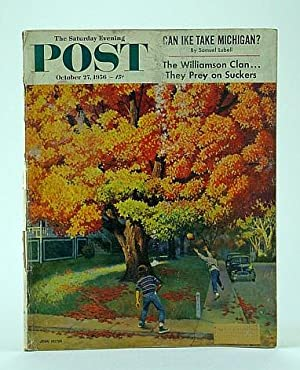 The Saturday Evening Post, October 27, 1956: Kobler, J.; Bess,