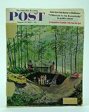 The Saturday Evening Post, August (Aug.) 23,: De Meyer, J.;