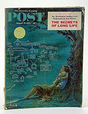 The Saturday Evening Post, August (Aug.) 15,: Borg, F.; Heuman,