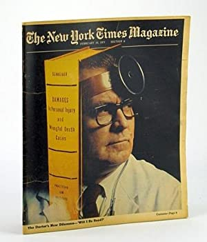 The New York Times Magazine, February (Feb.): Halberstam, Michael J.;