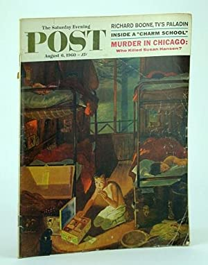 The Saturday Evening Post, August (Aug.) 6,: McGrady, Mike; Morgan,