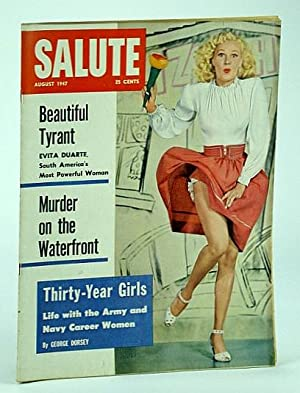 Salute Magazine, August (Aug.) 1947, Vol. 2,: Zinberg, L.; Josephs,