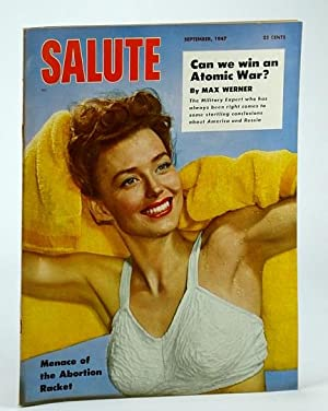 Salute Magazine, September (Sept.) 1947, Vol. 2,: Helfer, H.; Engel,