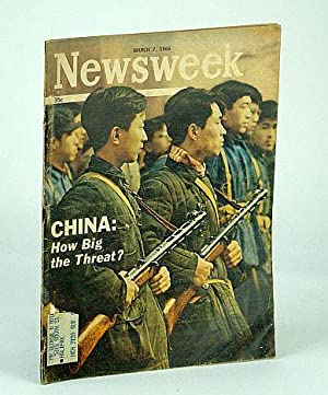 Newsweek Magazine, August 7, 1966 - China Threat / Missing H-Bomb!: Wallich, Henry C.; al, Et