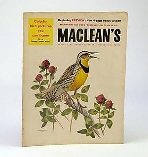 Maclean's, Canada's National Magazine, April (Apr.) 13,: Hutton, Eric; Moon,