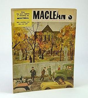 Maclean's - Canada's National Magazine, October (Oct): Manning, Herbert; Callwood,