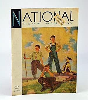 National Home Monthly Magazine, July 1938 - Lifeboats / Sir Herbert Barker / Golf's ...
