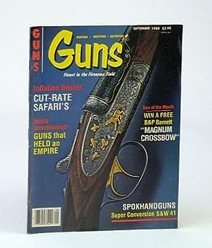 Guns Magazine, September (Sept.) 1980 - DuBiel: Woods, Jim; Stringfellow,