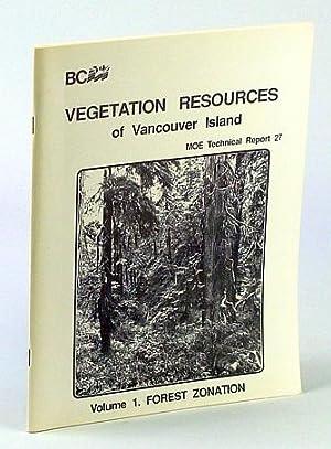 Vegetation Resources of Vancouver Island, Volume 1: Harcombe, Andrew P.;