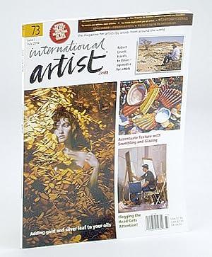 International Artist Magazine - The Magazine for: Williams, Robert Dale;