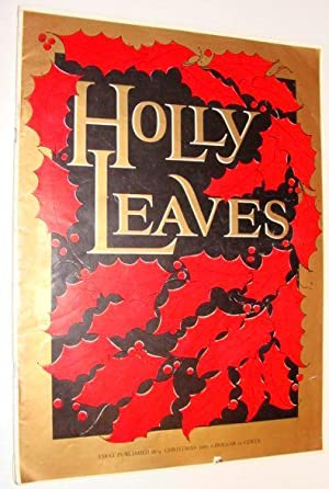 Holly Leaves Magazine, Christmas 1965: Contributors, Multiple