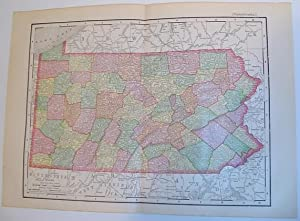 Rand, McNally and Co.'s 1895 Colour Map: Stated, Author Not