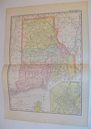 Rand, McNally & Co.'s 1901 Colour Map: Stated, Author Not