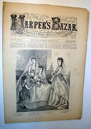 Harper's Bazar (Bazaar) Magazine, August 27, 1870 - A Repository of Fashion, Pleasure, and ...
