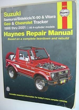 suzuki sidekick geo tracker 1995 repair service manual
