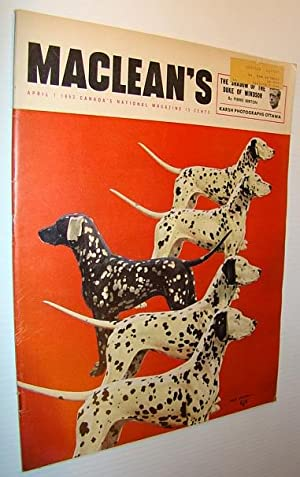Maclean's Magazine, April 1, 1953 - Dalmations: Allen, R.; Berton,