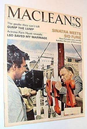 Maclean's Magazine, 5 November 1966 *Frank Sinatra Cover Photo*: Foster, Pam Hyatt; Locke, ...