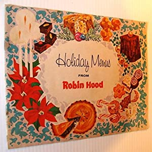Holiday (Christmas/New Year) Menus from Robin Hood: Contributors, Multiple