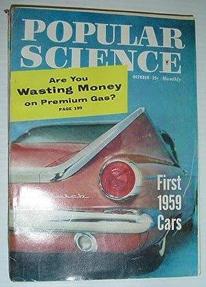 Popular Science Magazine, October (Oct.) 1958: Contributors, Multiple