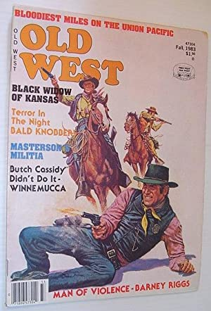 Old West Magazine: Fall, 1983: Contributors, Multiple