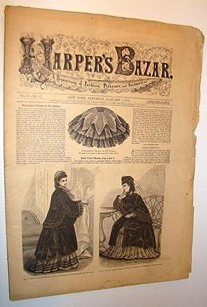 Harper's Baza (Bazaar)r Magazine, January 6, 1872 - A Repository of Fashion, Pleasure, and ...