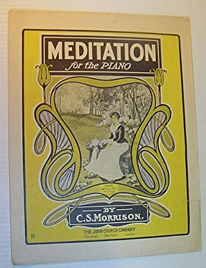 Meditation for the Piano - Sheet Music: Morrison, C.S.