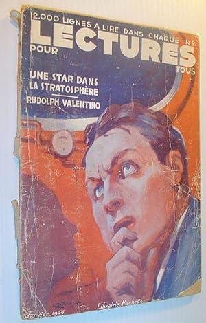 Lectures Pour Tous, Janvier 1939: Contributors, Multiple