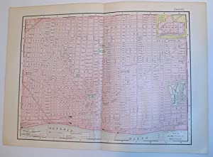 Rand McNally & Co's 1895 Map of: Stated, Author Not