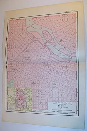 Rand, McNally & Co.'s 1895 Map of: Stated, Author Not