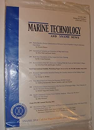 Marine Technology and SNAME News, October 2003: Contributors, Multiple