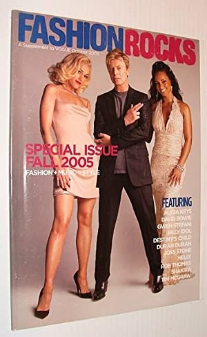 Fashion Rocks Magazine, A Supplement to Vogue October 2005 *David Bowie Cover*: Contributors, ...