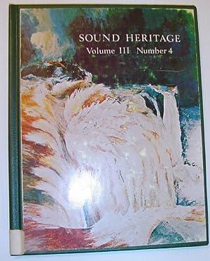 Sound Heritage Volume III Number 4 - The World Soundscape Project: Langlois, W.J; et al: Editors