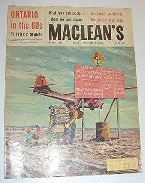 Maclean's Magazine, June 4, 1960 *PETER C.: Contributors, Multiple