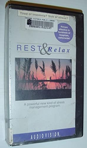 Rest and Relax: 27 Minute VHS Video Tape with Case: Unknown, Author