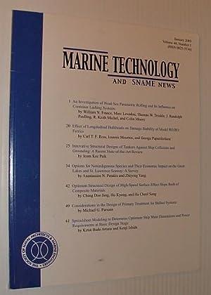 Marine Technology and SNAME News, January 2003: Contributors, Multiple