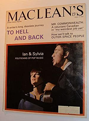Maclean's Magazine, August 21, 1965 *COVER PHOTO: Contributors, Multiple