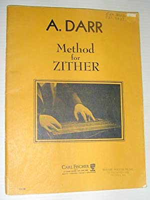 Method for Zither: Bilingual English/German: Darr, A.