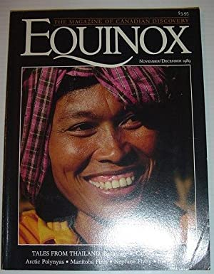 Equinox - The Magazine of Canadian Discovery: November/December 1989: Contributors, Multiple