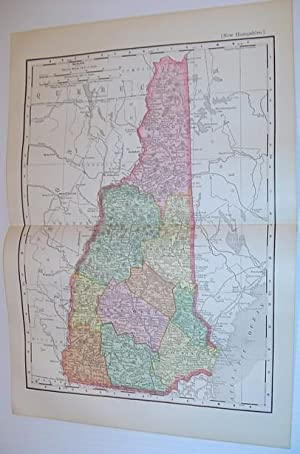 Rand McNally & Co.'s 1901 Coloured Map: Stated, Author Not