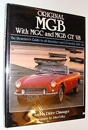 Original MGB with MGC and MGB GT: Clausager, Anders Ditlev