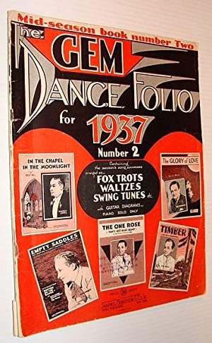 The Gem Dance Folio for 1937, No.: Shapiro, Elliott -