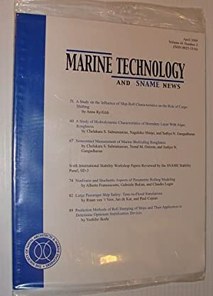 Marine Technology and SNAME News, April 2004: Contributors, Multiple