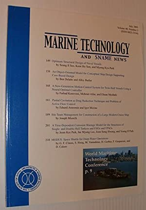 Marine Technology and SNAME News, July 2003: Contributors, Multiple