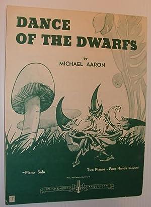 Dance of the Dwarfs: Sheet Music for Piano: Aaron, Michael
