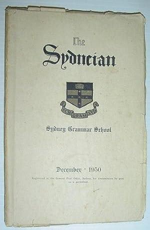 The Sydneian, December 1950 - Sydney (Australia) Grammar School: Contributors, Multiple