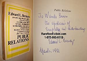 Public Relations: Bernays, Edward L.