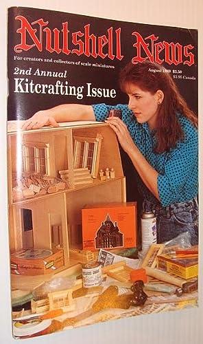 Nutshell News Magazine, August 1989 - 2nd Annual Kitcrafting Issue: Contributors, Multiple