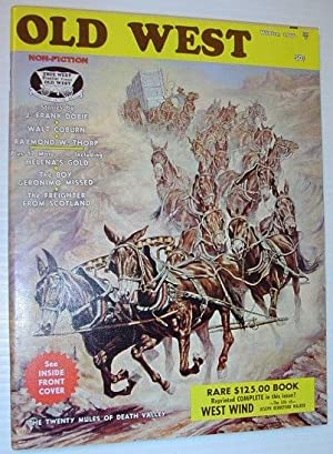 Old West Magazine - Winter, 1966: Contributors, Multiple